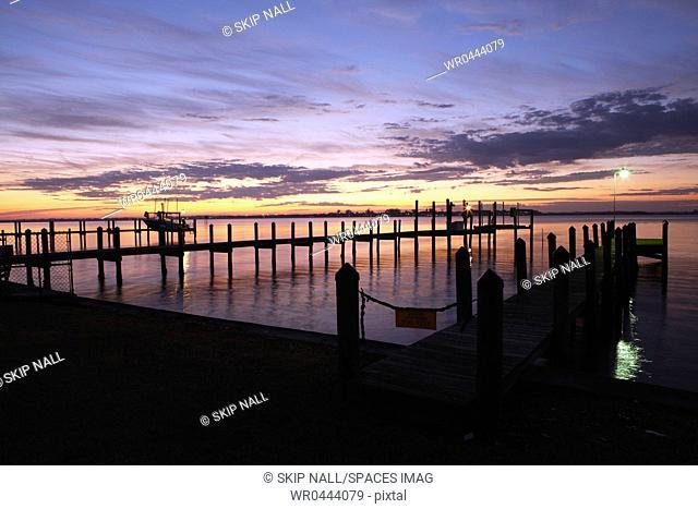 Dock at Dawn