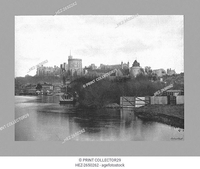 Windsor Castle, c1900. Artist: Russell & Sons