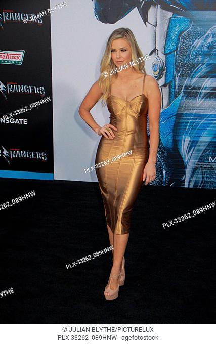 """Ariana Madix 03/22/2017 """"""""Power Rangers"""""""" Premiere held at the Westwood Village Theater in Westwood, CA Photo by Julian Blythe / HNW / PictureLux"""