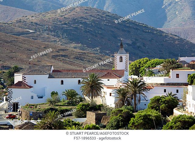 Traditional mountain village of Betancuria in Fuerteventura, Spain