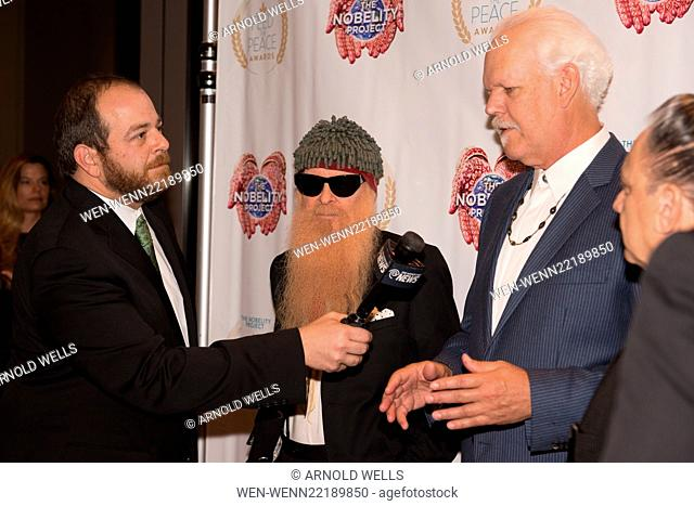 Feed the Peace Awards at the Four Seasons Austin honoring Kyle Chandler and Steven Van Zandt Featuring: Andy Langer, Billy Gibbons, Turk Pipkin