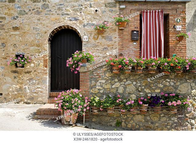europe, italy, tuscany, casal di pari
