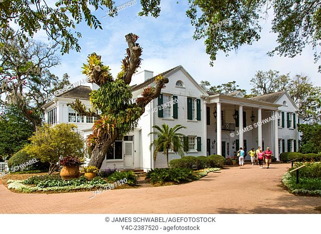 The Christy Payne Mansion at Marie Selby Botanical Gardens in Sarasota Florida