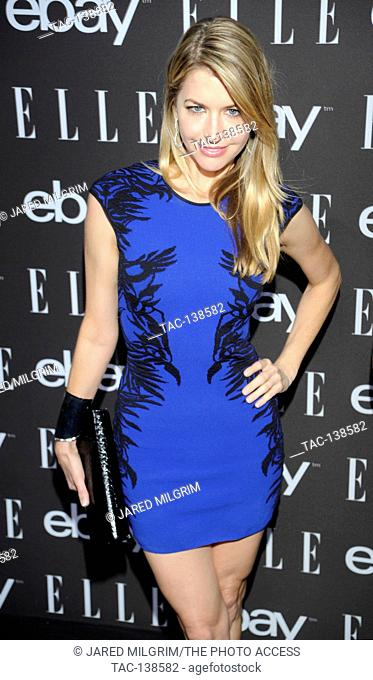 Actress Jamie Anderson arrives at the 6th Annual ELLE Women In Music Celebration presented by eBay at Boulevard3 on May 20th, 2015 in Hollywood, California