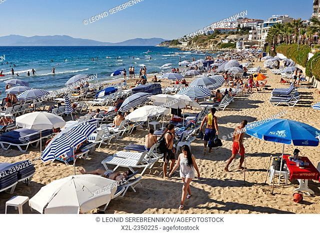 Ladies Beach. Kusadasi, Aydin Province, Turkey
