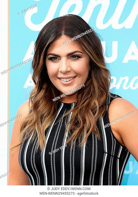 10th Annual ACM Honors at The Ryman Auditorium - Arrivals Featuring: Hillary Scott Where: Nashville, Tennessee, United States When: 30 Aug 2016 Credit: Judy...