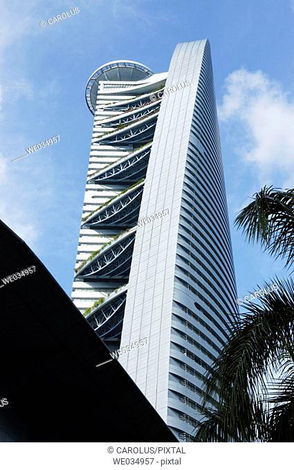 Menara TM (TowerTelekom Malaysia). Kuala Lumpur. Malaysia