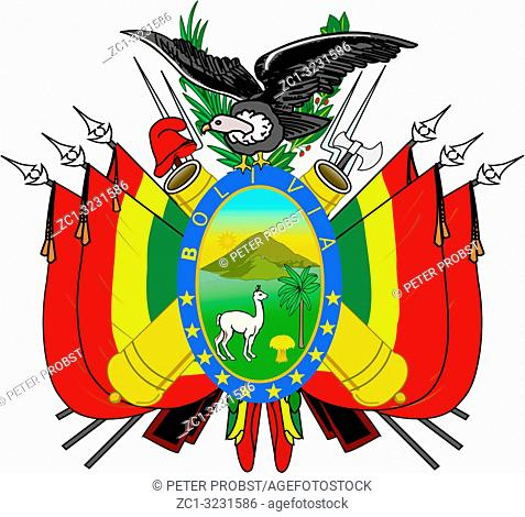 National coat of arms of Bolivia