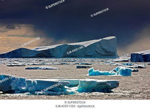 Dark Cloud Over Iceberg
