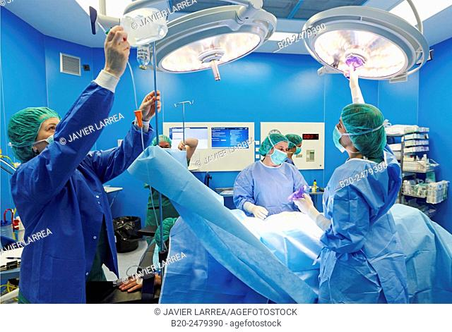 General surgery, Operating room, Ambulatory Surgery, Hospital Donostia, San Sebastian, Gipuzkoa, Basque Country, Spain