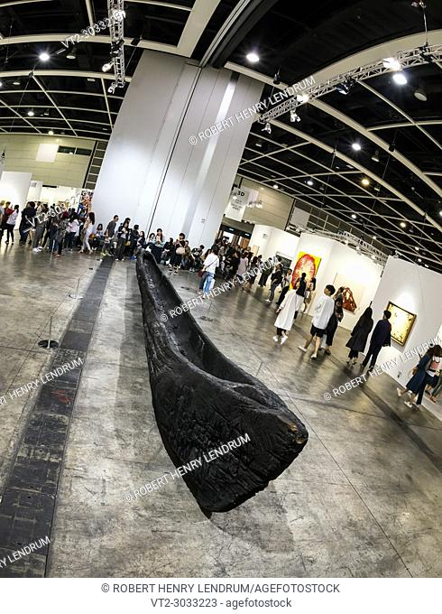 March 30th, 2018 - Exhibitions at the Art Basel 2018 show, held at the Hong Kong Convention and Exhibition Centre, Wan Chai, Hong Kong
