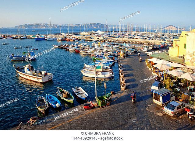 Marina Grande, Procida Island, Bay of Naples, Campania, Italy