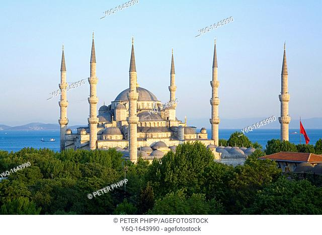 The 'Blue Mosque' Sultan Ahmet Camii  Istanbul
