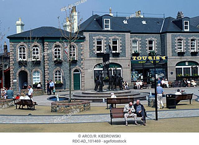 Tourist office at Liberation Square St. Helier Jersey Channel Islands Great Britain
