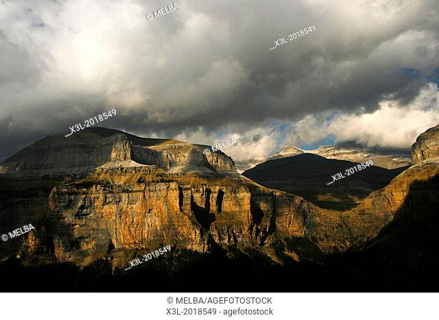 Ordesa National Park. Huesca. Aragon. Pyrenees. Spain