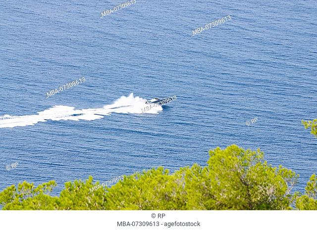 Superyacht, Ibiza, Spain