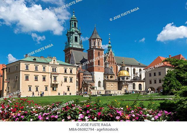 Poland, Krakow City, Wawel Royal Castle, UNESCO World Heritage