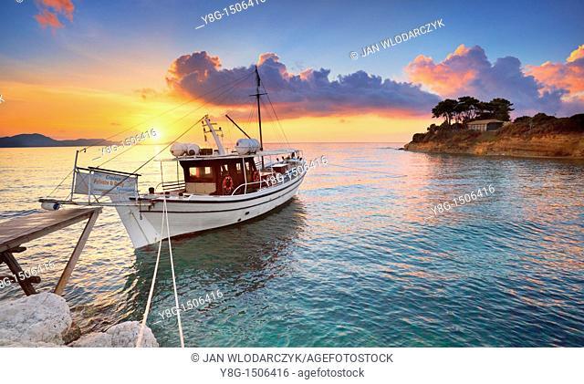 Lagana Bay, Agios Sostis, Zakynthos Island, Greece, Europe