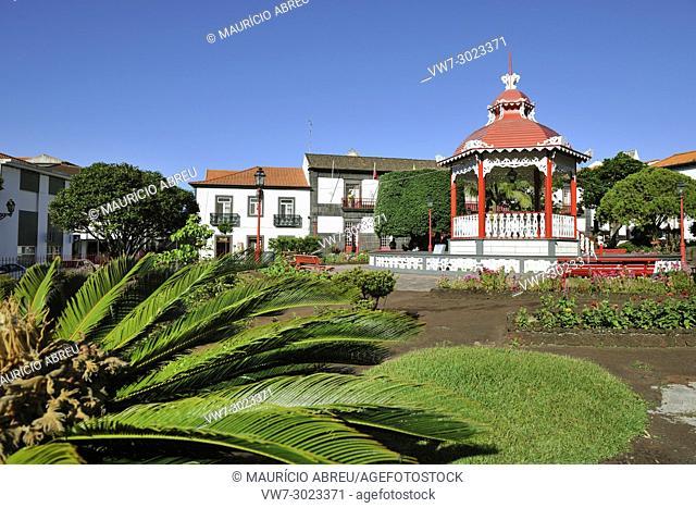 The garden of Velas, São Jorge. Azores islands, Portugal