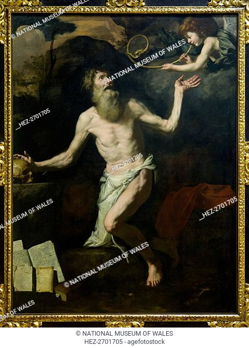 The Vision of St Jerome, c1620s. Creator: Unknown