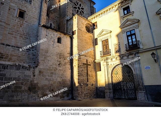 The Episcopal Palace of Cuenca, is located next to the Cathedral, was in the fifteenth century court of the Inquisition until the year 1530, take in Cuenca
