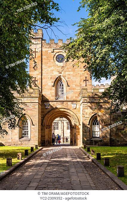 Durham castle in Durham , England , Britain , Uk