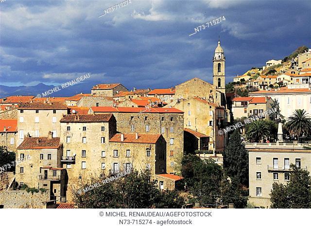 Sartène, Southern Corsica, France