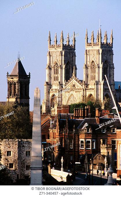Minster (Cathedral). York. England. UK