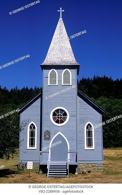 St Mary's McGowan Church (1904), Pacific County, Washington