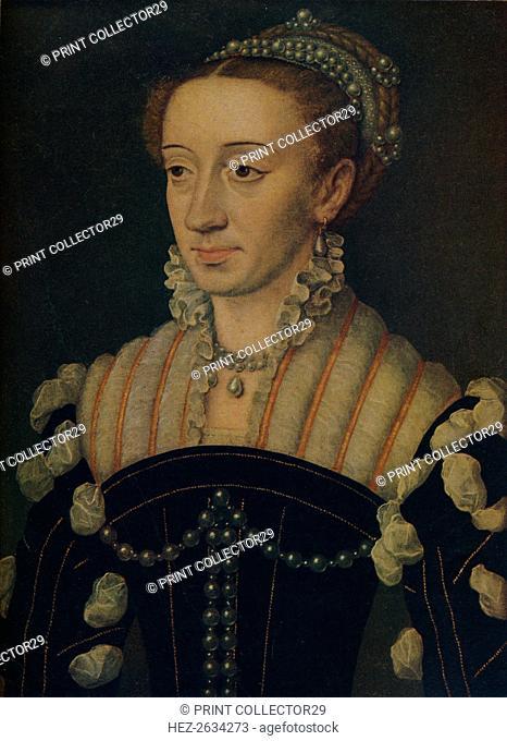 'Margaret of Navarre', c1563. Artist: Jean Clouet