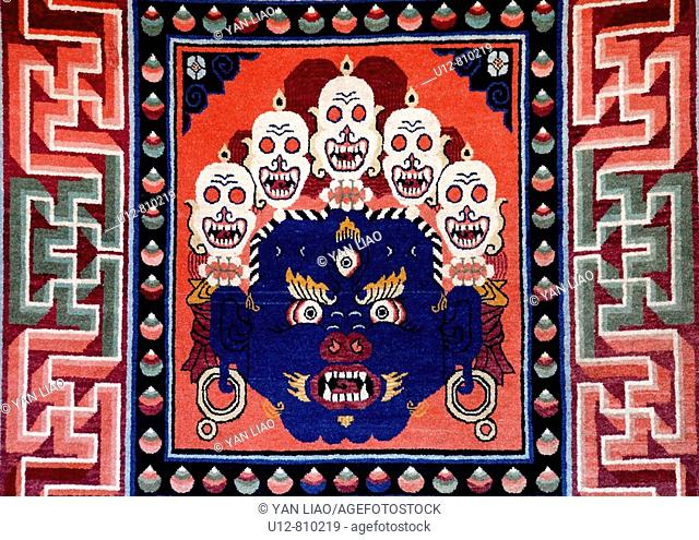 traditional temple Thangka painting