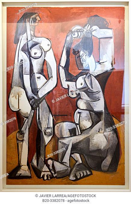 """""""Femmes á la toilette"""", 1956, Pablo Picasso, Picasso Museum, Paris, France, Europe"""