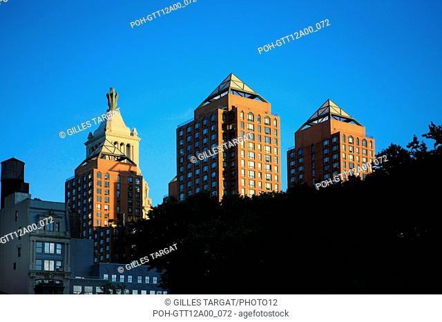 usa, etat de New York, New York City, Manhattan, Chelsea, buildings, rue, union square, Photo Gilles Targat