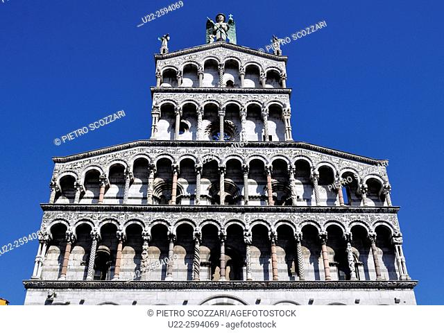 Lucca, Italy, the Cathedral of San Martino...