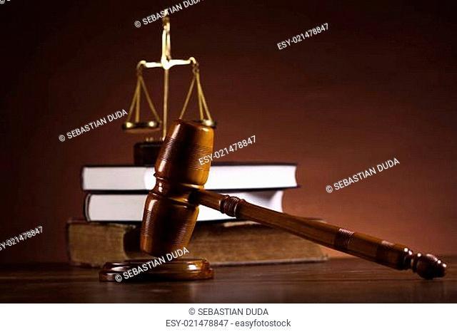 Judge gavel