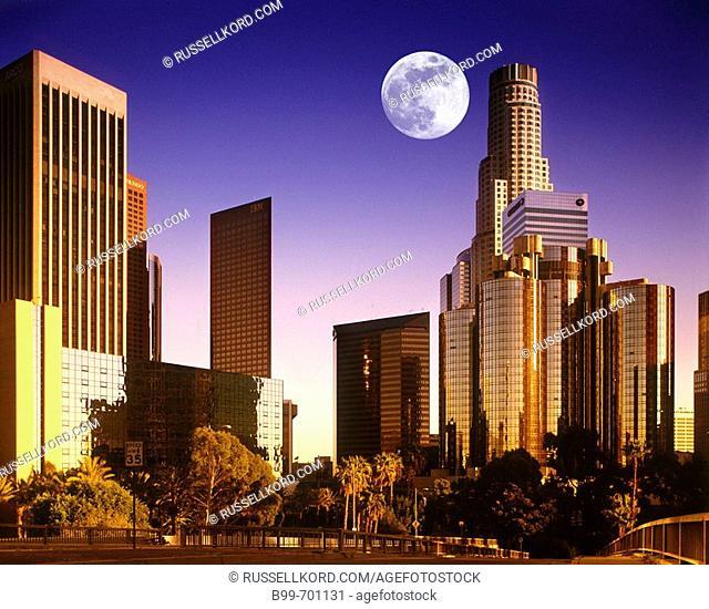 Downtown, Los Angeles, California, USA
