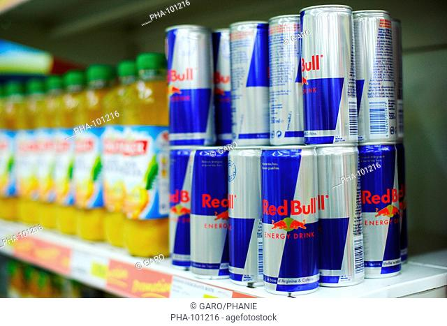 Red Bull : taurine and cafeine-based energy drink