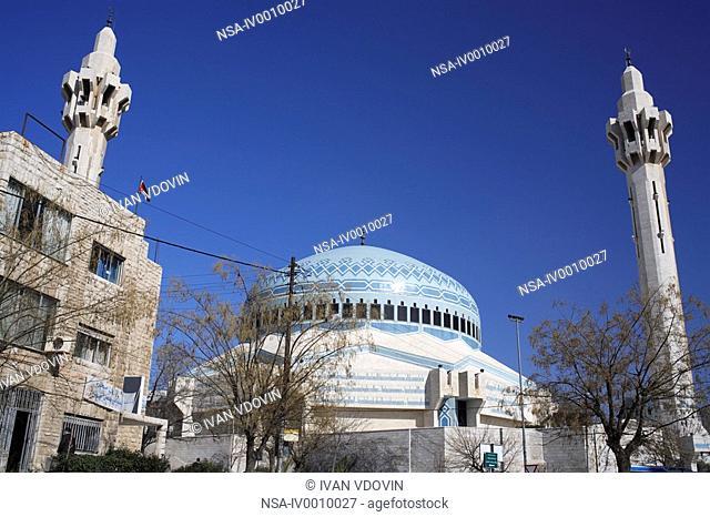 King Abdalah I Mosque 1982 1989 Amman Jordan