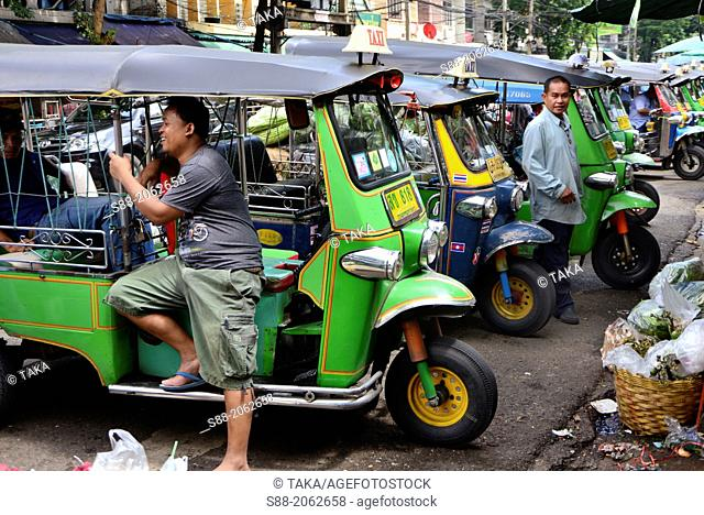 Auto Rickshaw Tuk tuk in Bangkok