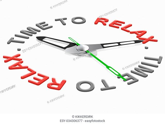 relax time for relaxation and leisure. quality time for having fun