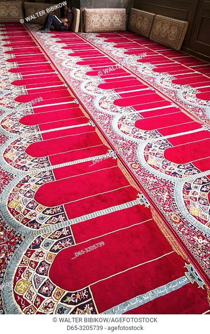 Armenia, Yerevan, The Blue Mosque, 18th century, carpet