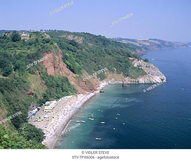 Babbacombe, Bay, Devon, England, United Kingdom, Great Britain, Holiday, Landmark, Torquay, Tourism, Travel, Vacation