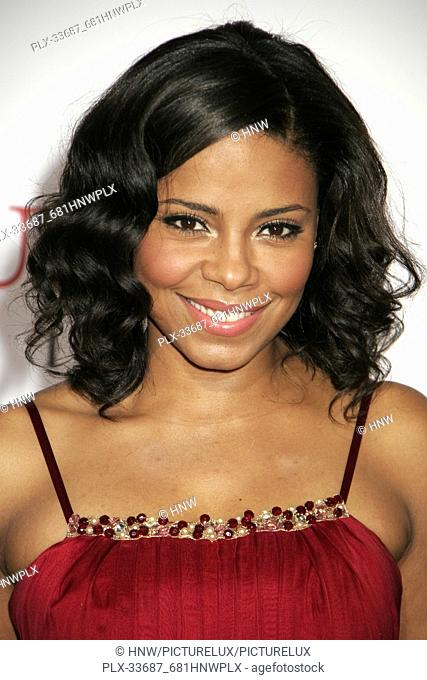 "Sanaa Lathan 12/16/08 """"Seven Pounds"""" Premiere @ Mann Village Theatre, Westwood Photo by Megumi Torii/HNW / PictureLux (December 16"