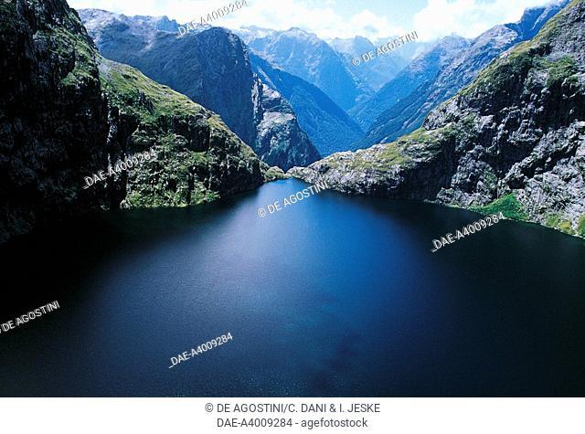 Lower Lake Quill, Fiordland National Park, Te Wahipounamu (UNESCO World Heritage List, 1990), South Island, New Zealand