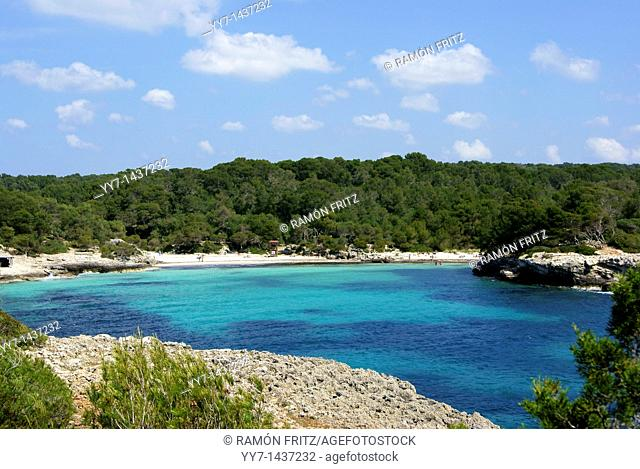 Cala Turqueta, Minorca, Balearic Islands, Spain