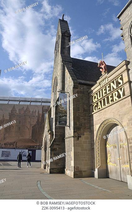 The Queen's Gallery in Edinburg, Scotland