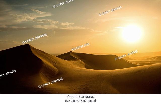 Glamis sand dunes, California, USA