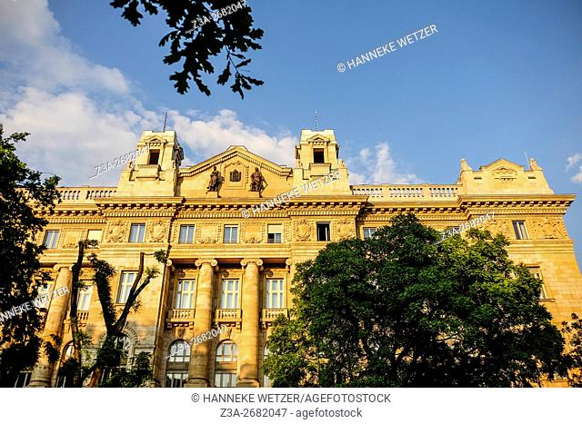 Hungarian National Bank in Budapest, Hungary