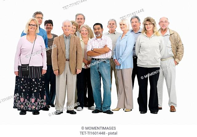 A group of people