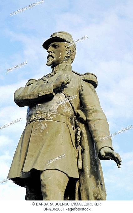 Monument to Colonel Denfert Rochereau, Belfort, Franche-Comte, France, Europe, PublicGround